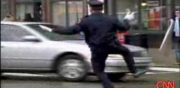 Providence, RI Traffic Cop Dancing