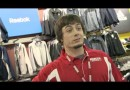 Danny Woodhead as Modell's Employee Selling his own Reebok Jersey